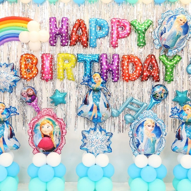 Frozen Snow Queen Birthday Party Package