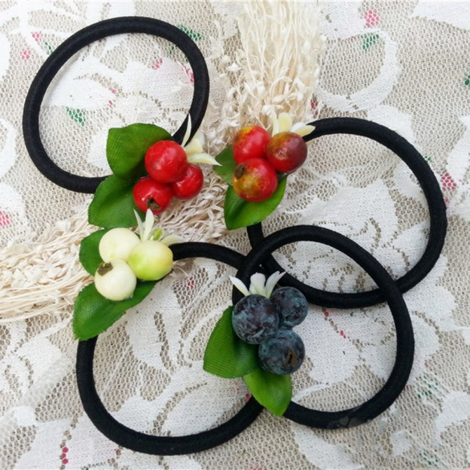 Fruits Hair Band Set