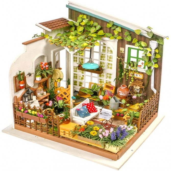 Miniature Garden DIY Dollhouse Kit