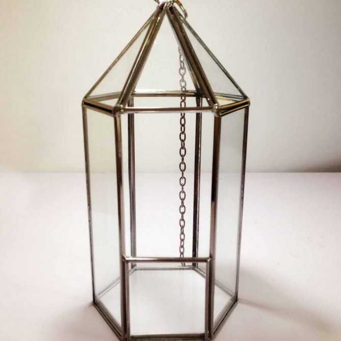 Geometric Glass Terrarium C