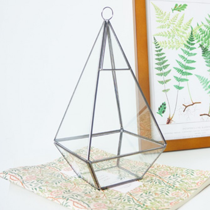 Geometric Glass Terrarium B