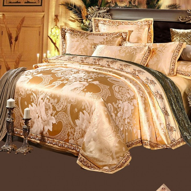 Amanti Luxury  Queen Duvet Cover Set