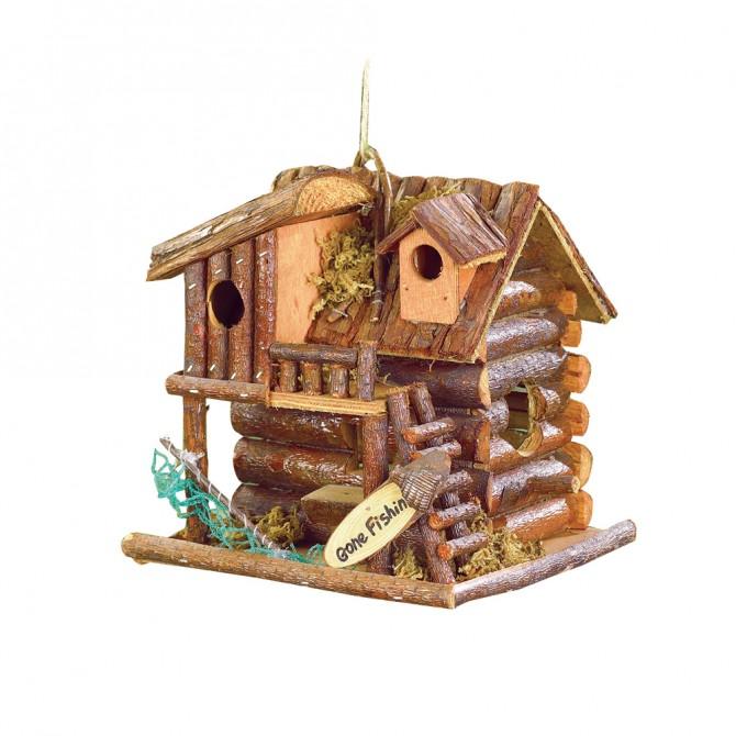 Gone Fishin' Bird House