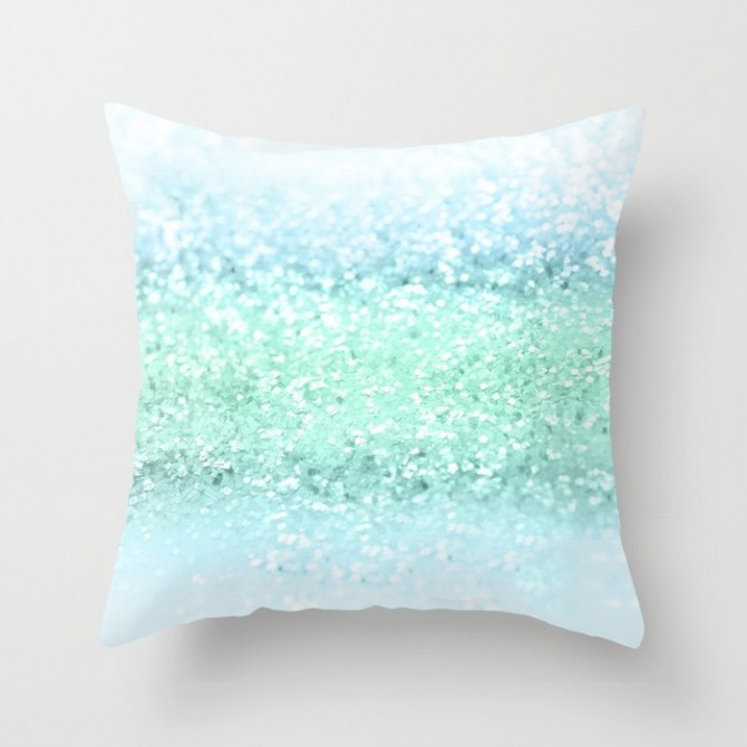 Sequin Pattern Cushion Cover E