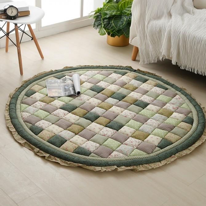 Green Quilt Mat