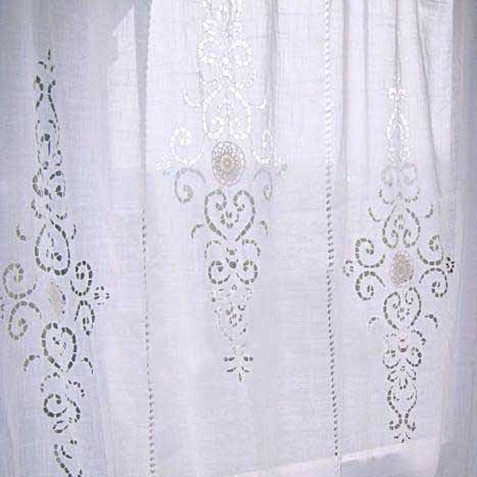 Timeless Handcrafted Crochet Curtain