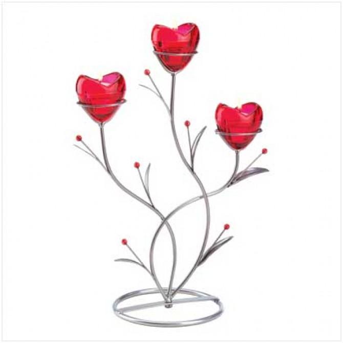 Heart Bouquet Candleholder