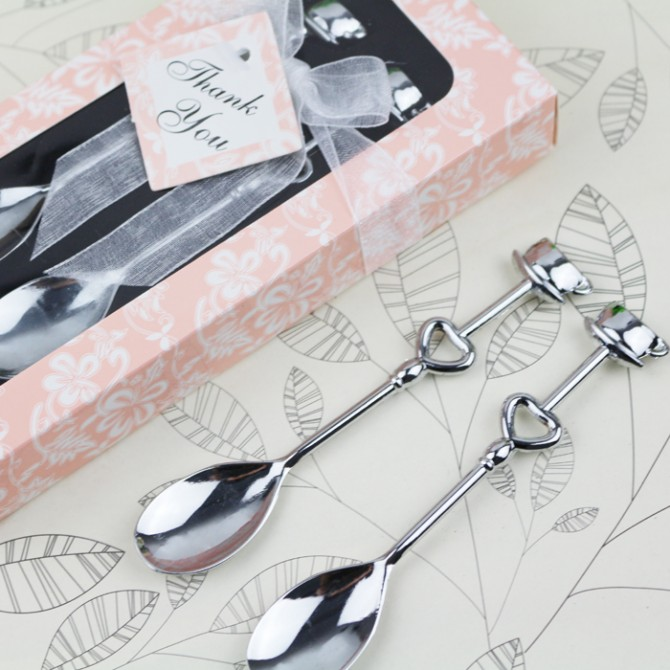 Heart Coffee Tea Spoons