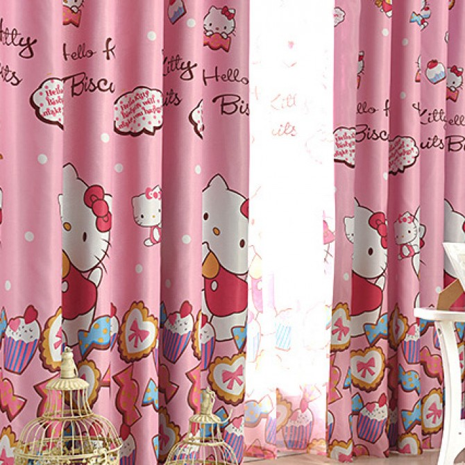 pink alluring curtains dots ideas with curtain and poly cotton of blackout