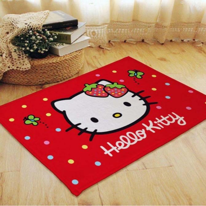 Hello Kitty Red Floor Mat