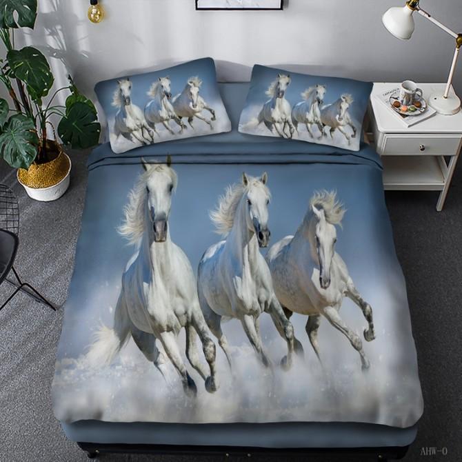 Horse Theme Duvet Cover Set 06