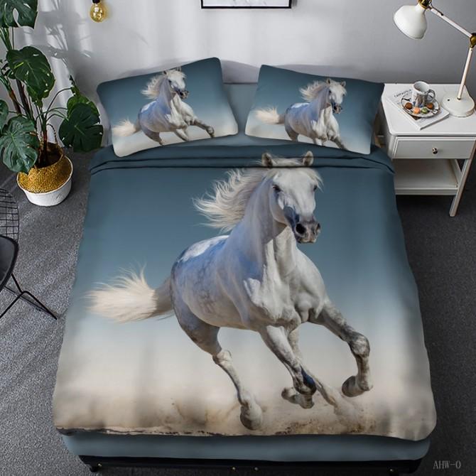Horse Theme Duvet Cover Set 07