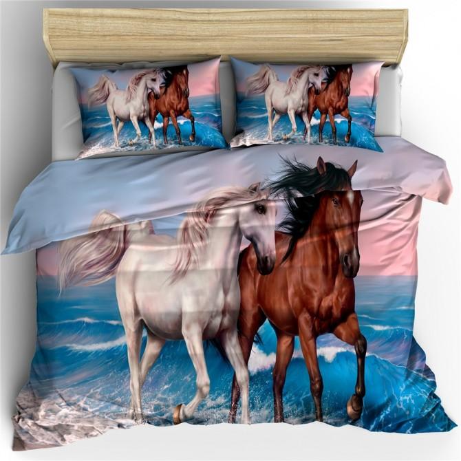 Horse Theme Duvet Cover Set 20