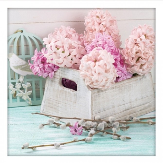Vintage Hyacinth Print