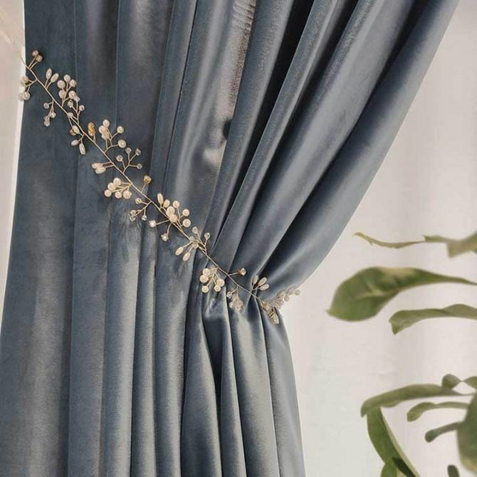 Jewelry Curtain Tieback
