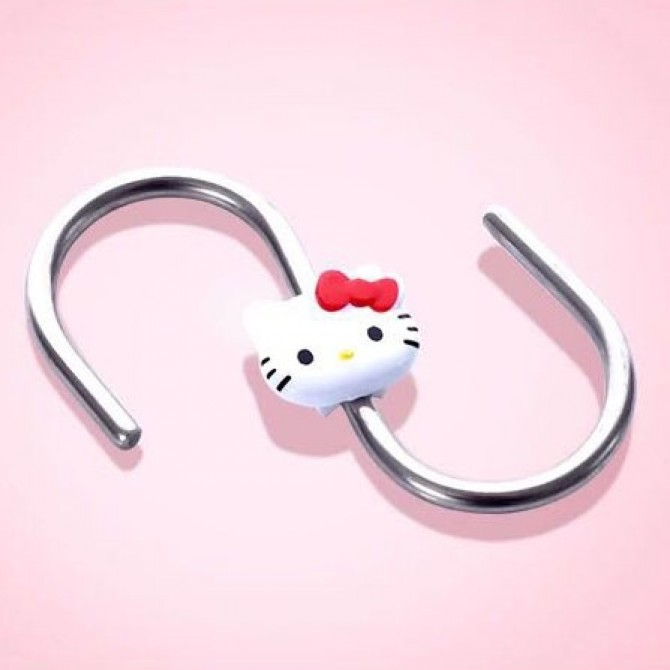 Hello Kitty Metal S Shaped Kitchen Spoon Pan Pot Hanging Hooks