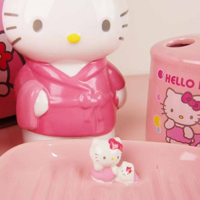 Hello Kitty Bathroom Set 4pcs