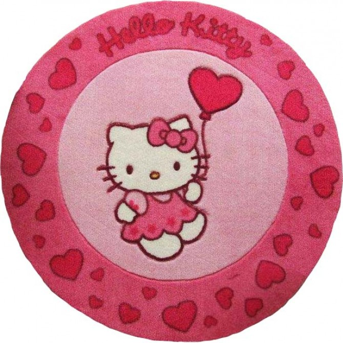 Hello Kitty Round Rug