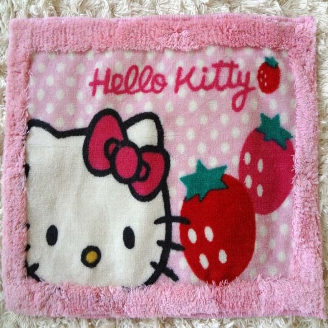 Kitty Rug Door Mat B- Final Sale