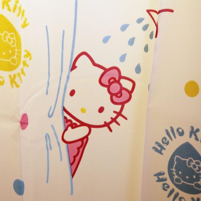 Hello Kitty Bubble Bath Shower Curtain
