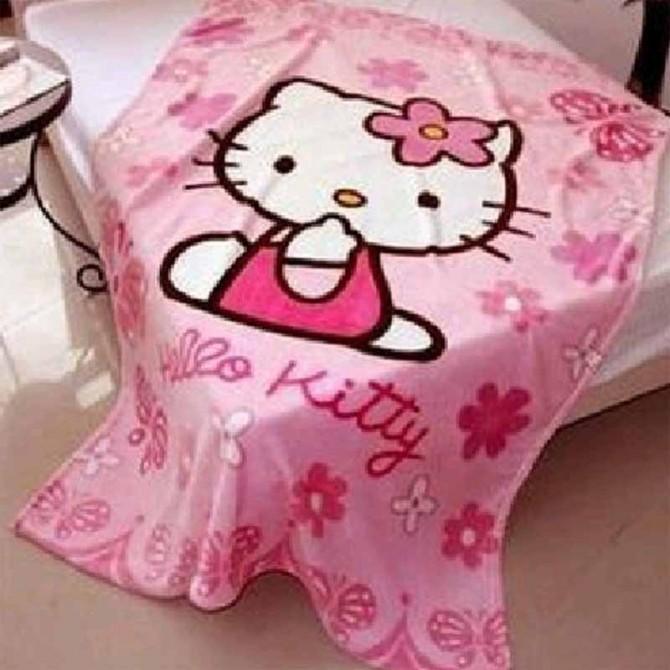 Hello kitty Coral Fleece Throw Blanket