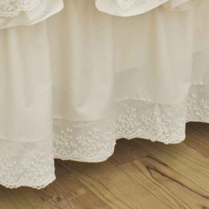Lace Whisper Bedskirt