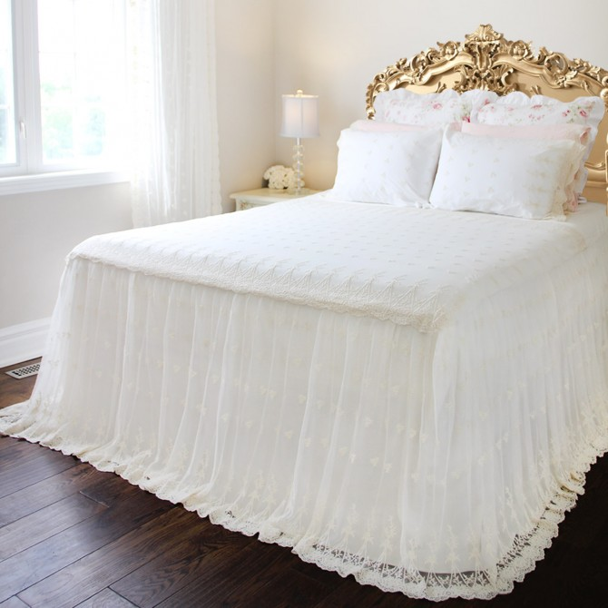 Lace Love Bedspread Coverlet