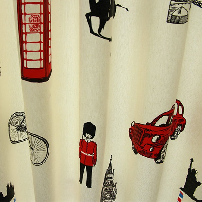 London Curtain Panel