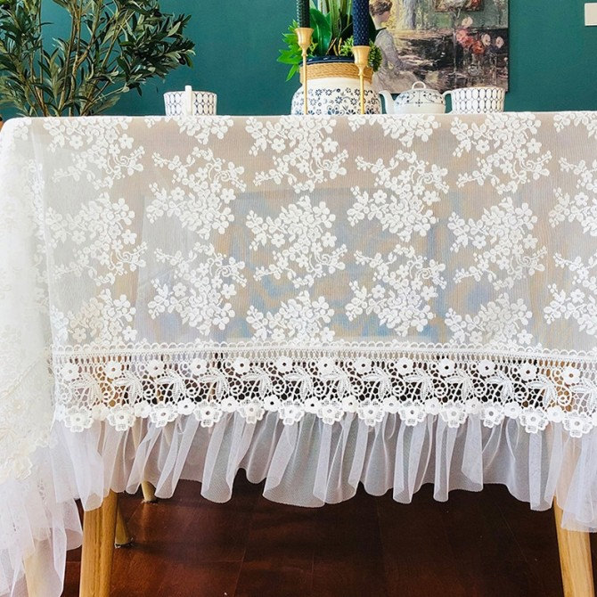 French Lace Tablecloth