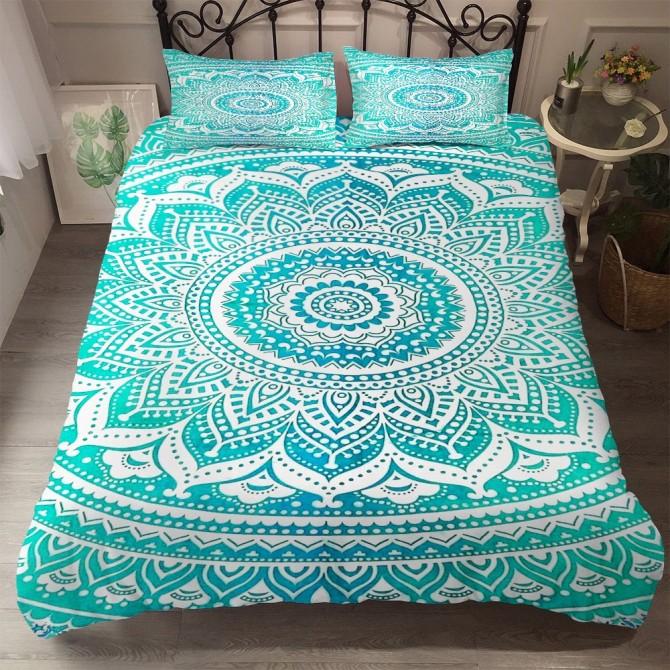 Mandala Flower Duvet Cover Set