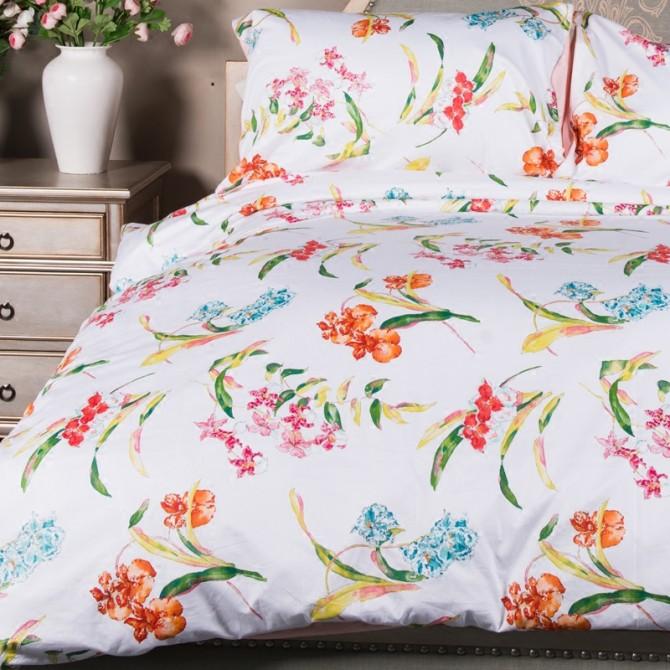 Iris Egyptian Cotton Duvet Cover Set