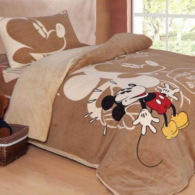 Mickey Mouse Fleece Duvet Cover Set