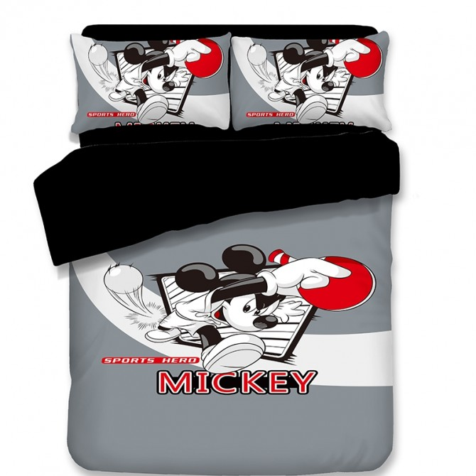 Mickey Mouse Sports Hero Duvet Cover Set