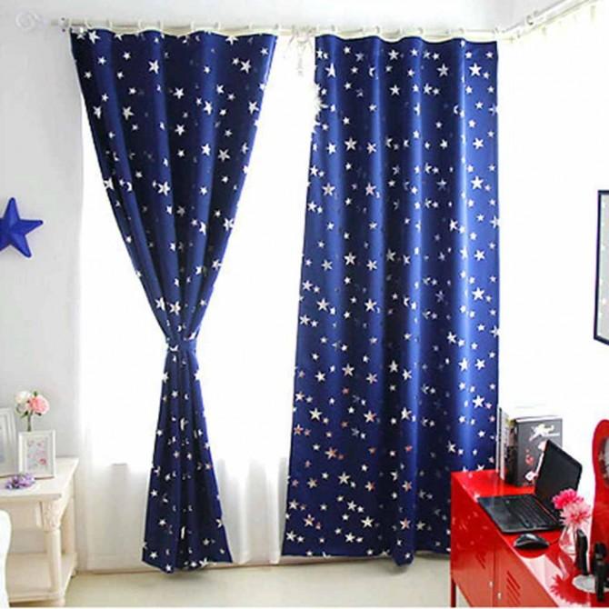 Million Stars Blackout Curtain Panel