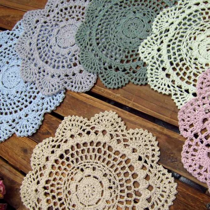 Harmony Crochet Doily