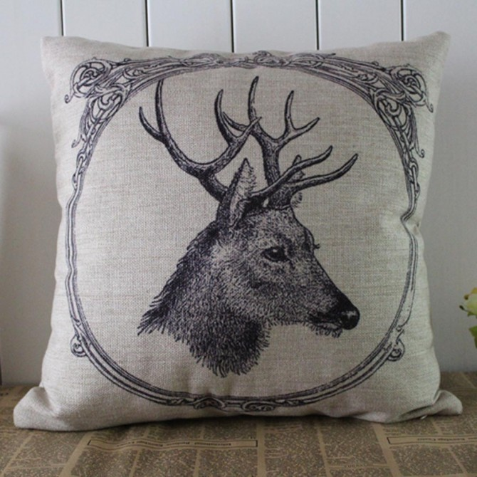 Moose Cushion Cover