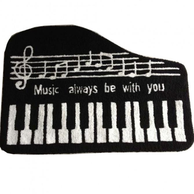 Music Piano Rug