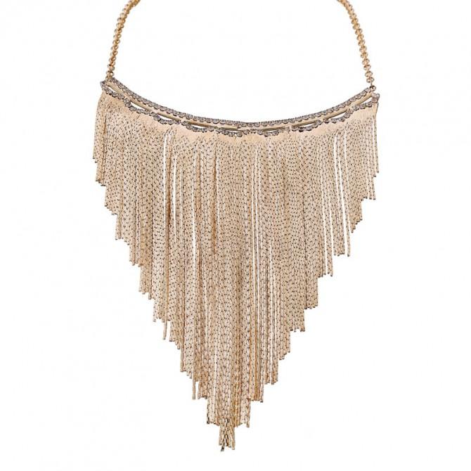 Tassel Chain Gold Necklace