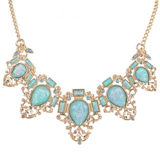 Mystery Bib Necklace
