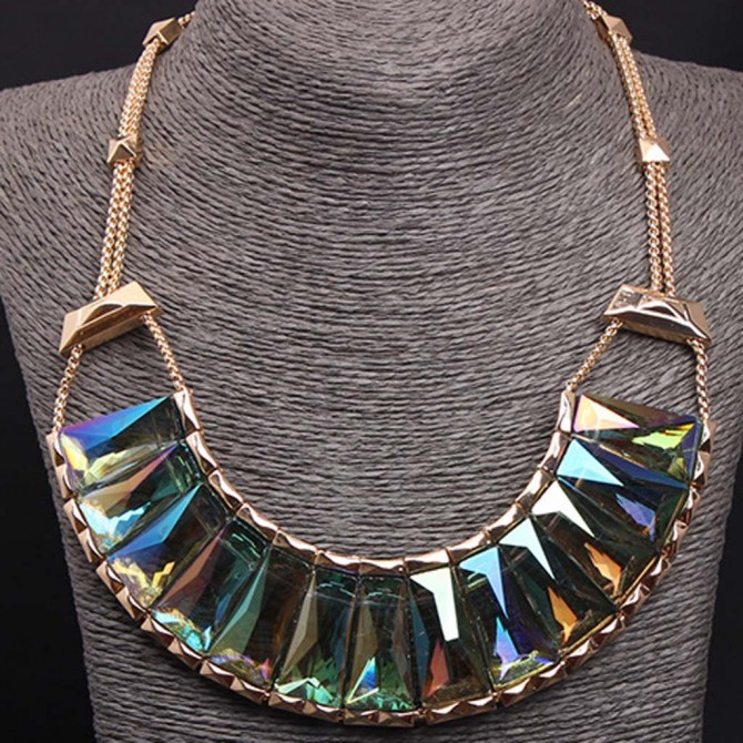 Mystic Green Necklace