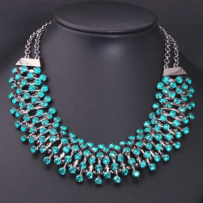 Green Stellar Necklace
