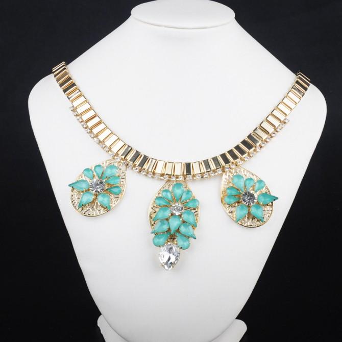 Aqua Green Necklace