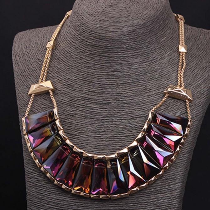 Mystic Purple Necklace