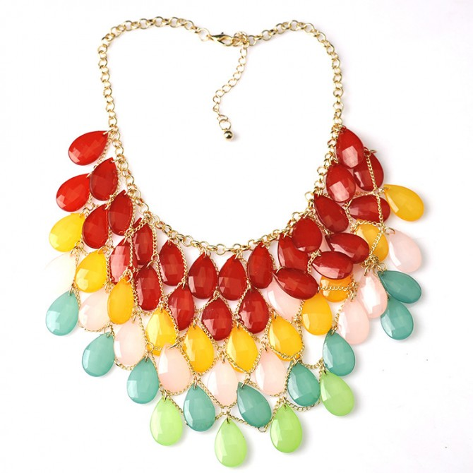 Fantastic Colorful Necklace