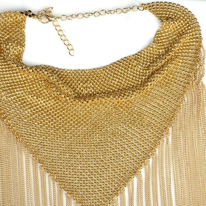 Trendy Tassel Chain Necklace