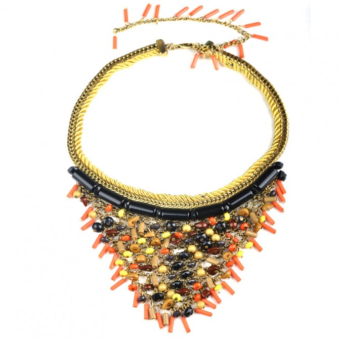 Vivid Orange Necklace