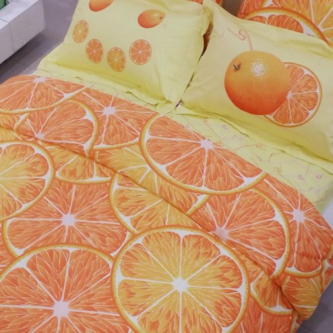 Fruit Orange Duvet Cover Set