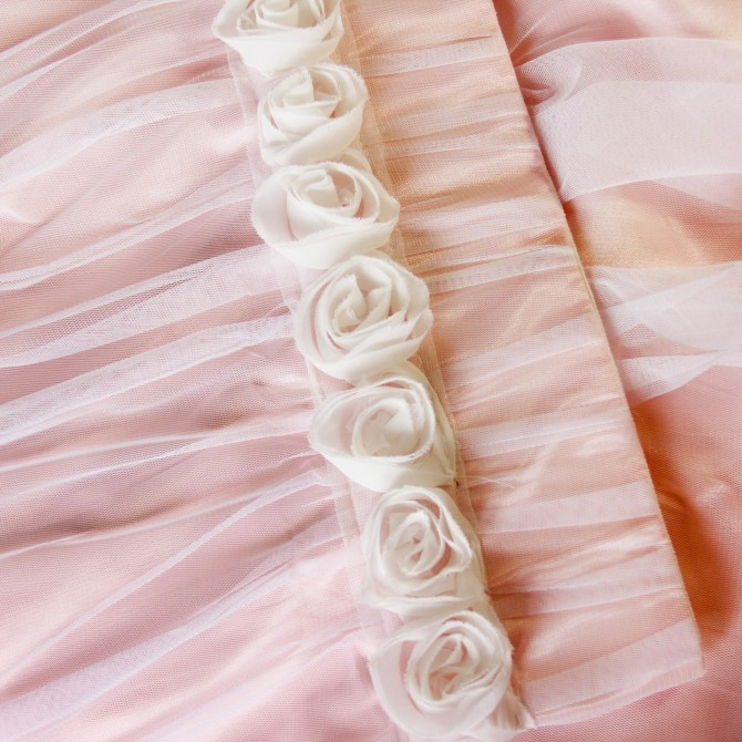 Simply Elegant Rose Lace Panel