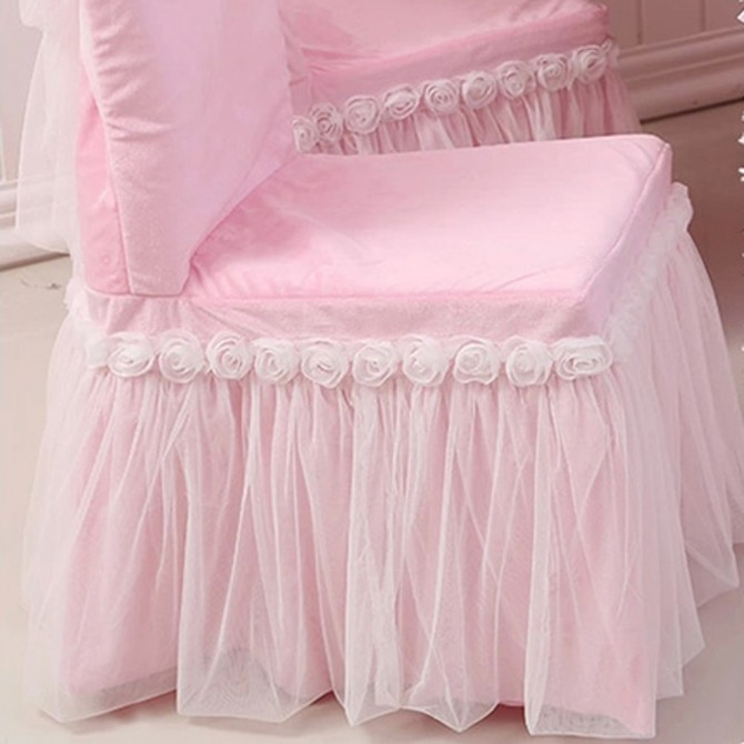 Ruffle Chair Cover