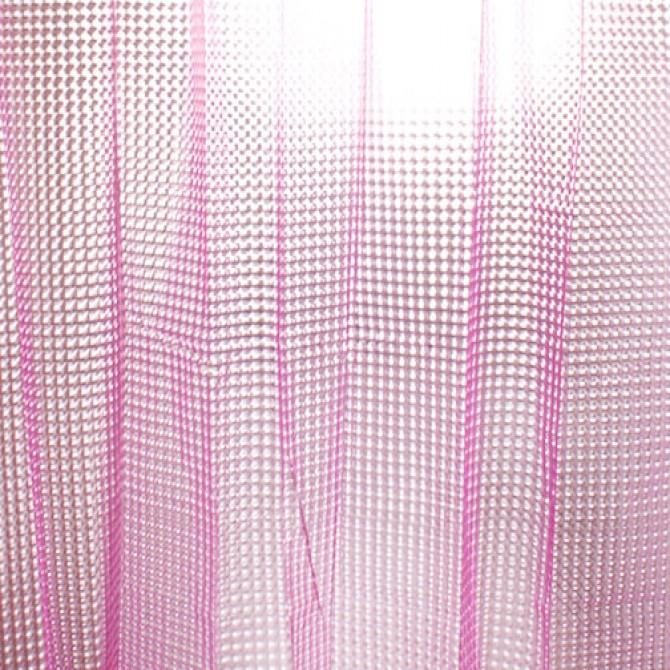 3D Pink Flourish Diamond Shower Curtain